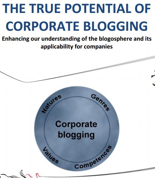 Zakelijk bloggen, wel of niet doen?