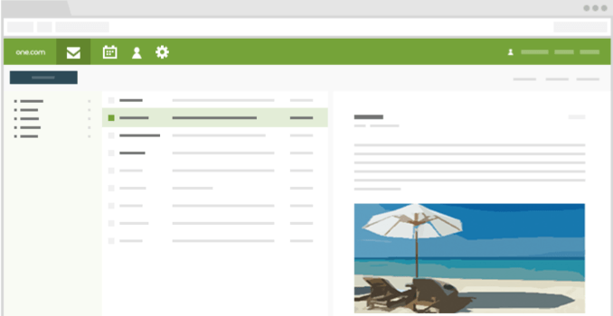 E-mail lay-out